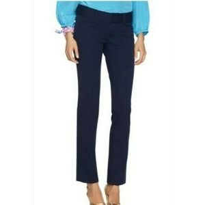 Lily Pulitzer Jet Set Trousers Navy